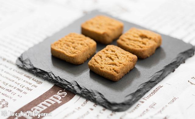 全粒粉のガリガリクッキー