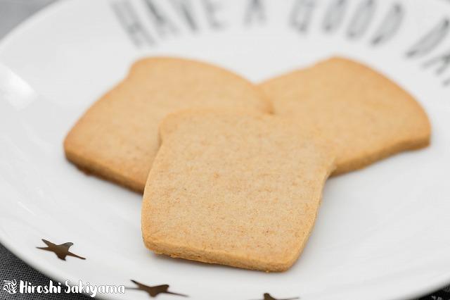 全粒粉とはちみつのクッキー2