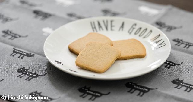 全粒粉とはちみつのクッキー