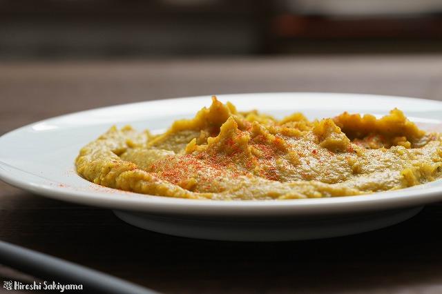 ひよこ豆とかぼちゃのフムスカレー4