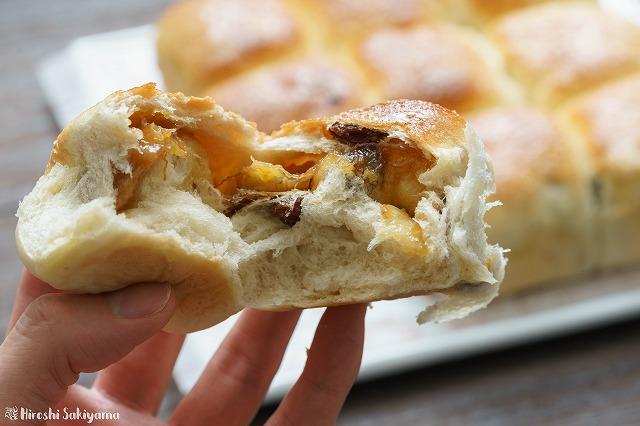 シュガーレーズンとキャラメルバナナのちぎりパン4