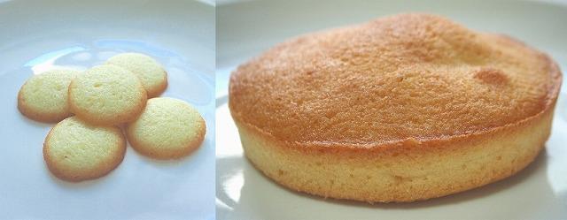 ラングドシャクッキー&ケーキ