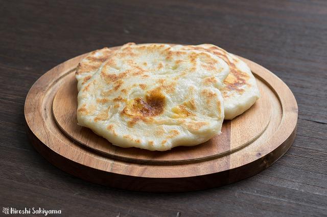 包むタイプのチーズナン