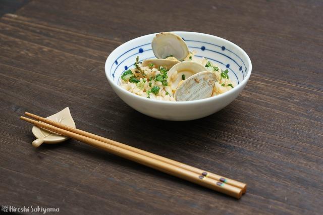 ホンビノス貝の炊き込みご飯