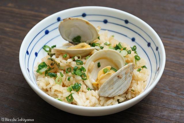 ホンビノス貝の炊き込みご飯2