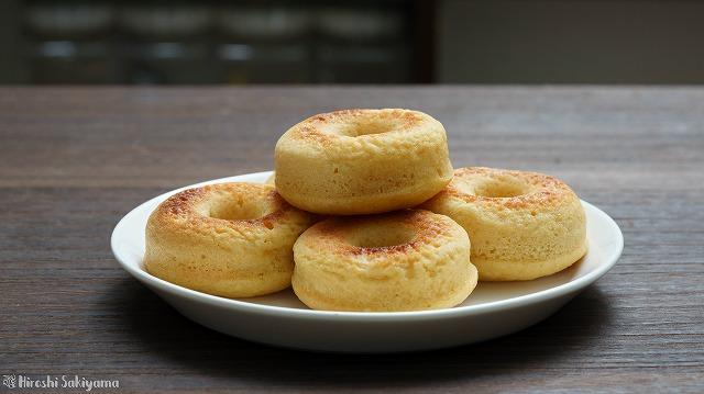 豆腐の焼きドーナツ