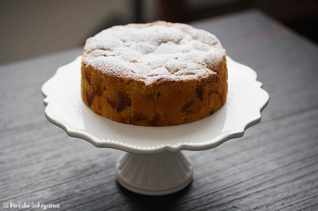 キャラメルりんごケーキ2