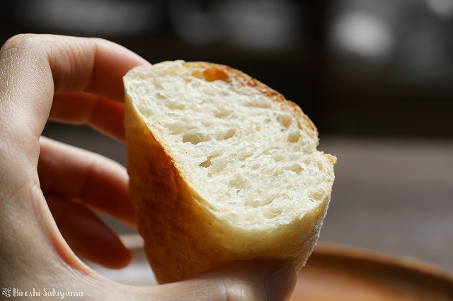 クッペっぽいパンの断面