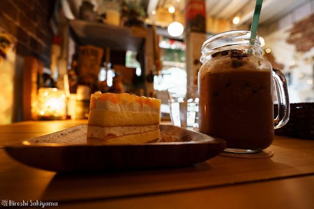カシスチョコレート・ココア ケーキセット