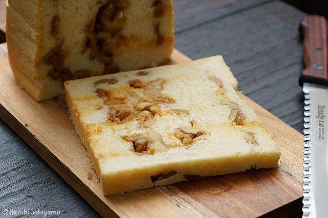 くるみとチーズ(ゴートスキークイーン)の食パン