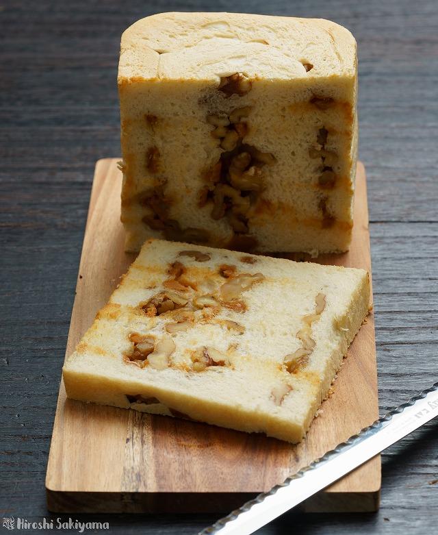 くるみとチーズ(ゴートスキークイーン)の食パン2
