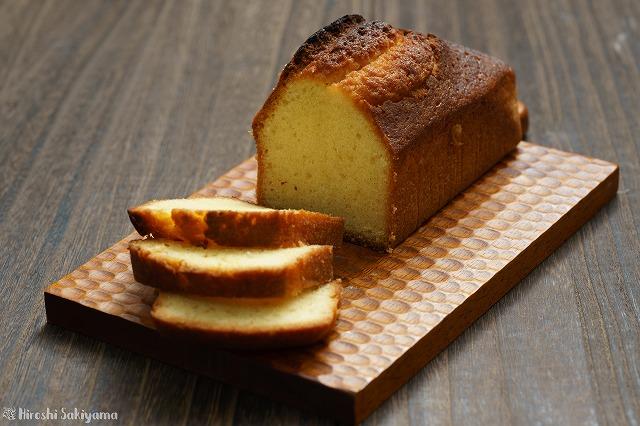 バニラミルクパウンドケーキ