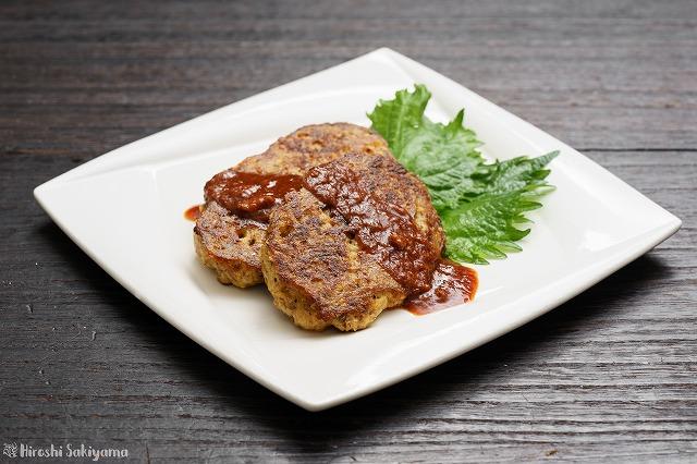 サバ豆腐ハンバーグ