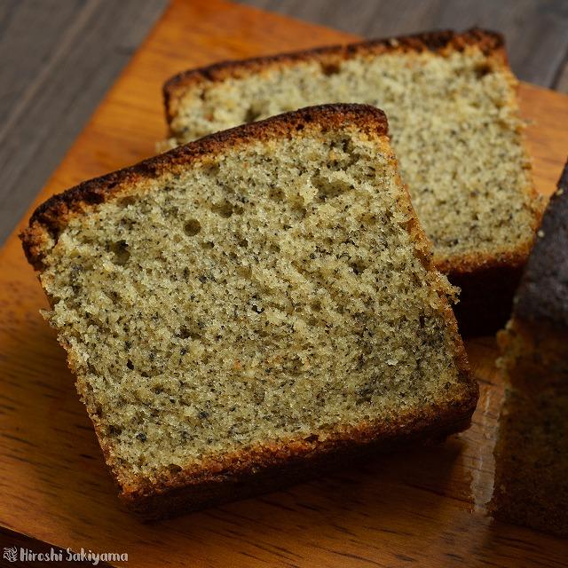 黒ごまのパウンドケーキ2