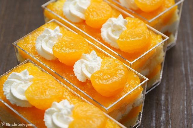 みかんゼリーのスコップケーキ2