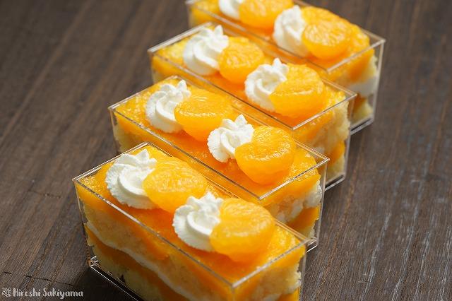 みかんゼリーのスコップケーキ4