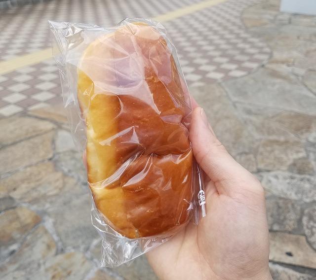 ピーナッツバター米粉パン
