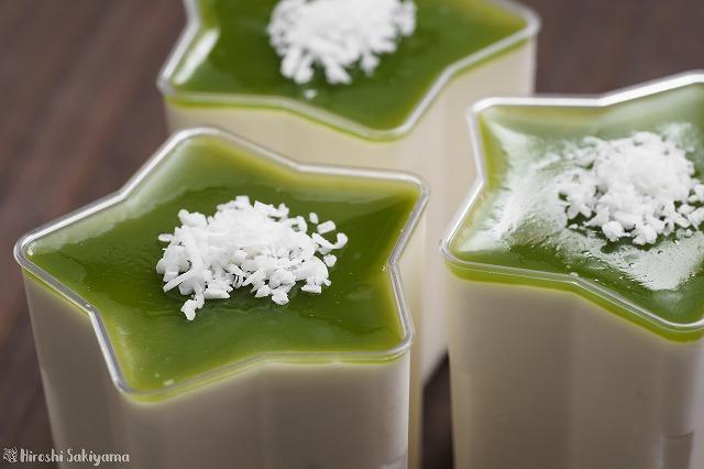 ココナッツミルクのレアチーズケーキ2