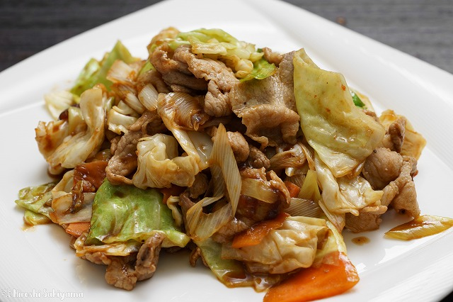 回鍋肉(ホイコーロー)2