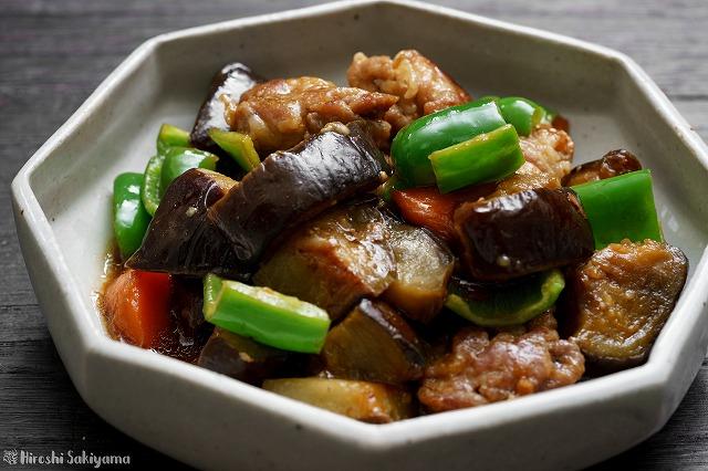 夏野菜と豚こまの南蛮
