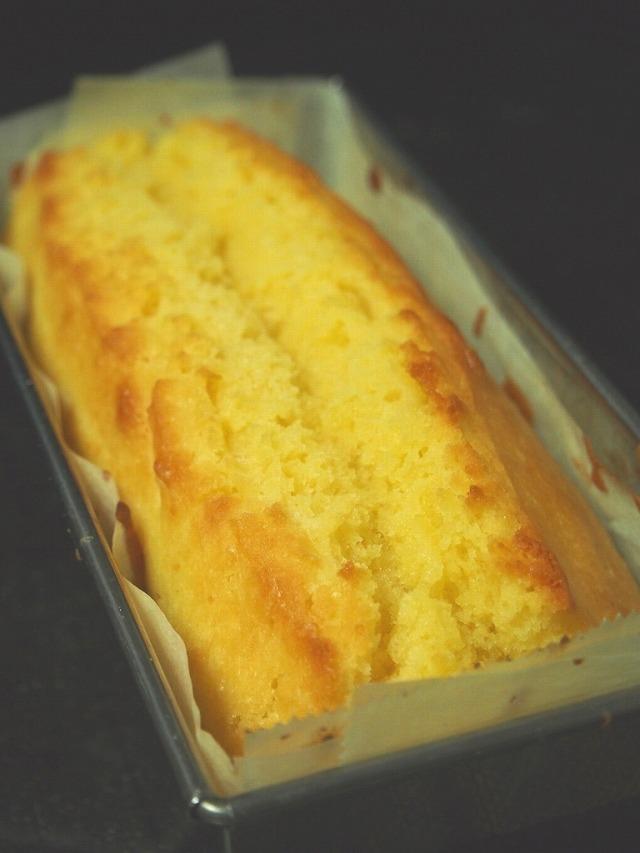 白あんのパウンドケーキ