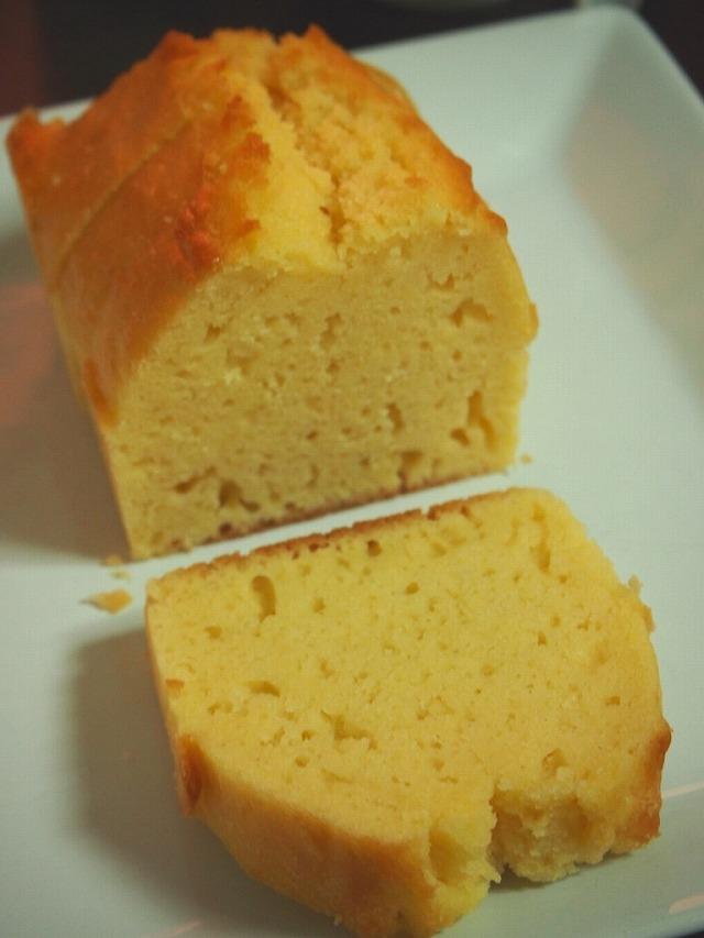 白あんのパウンドケーキ2
