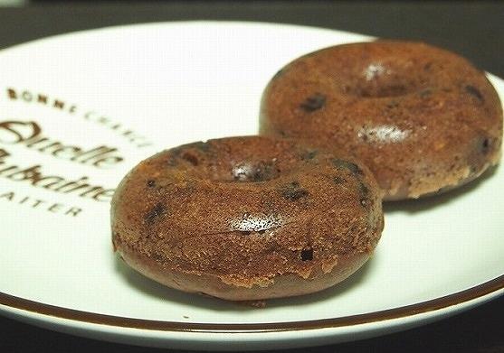 チョコレート焼きドーナツ3