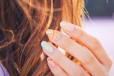 女の子の髪の毛の画像