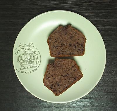 カットしたジャムパウンドケーキ
