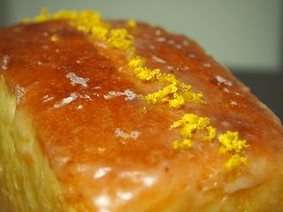 ウィークエンドシトロン(レモンパウンドケーキ)のアップ