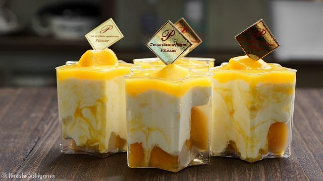 マンゴーレアチーズケーキ2