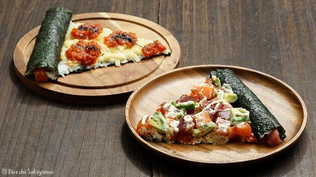 寿司ピザ2種
