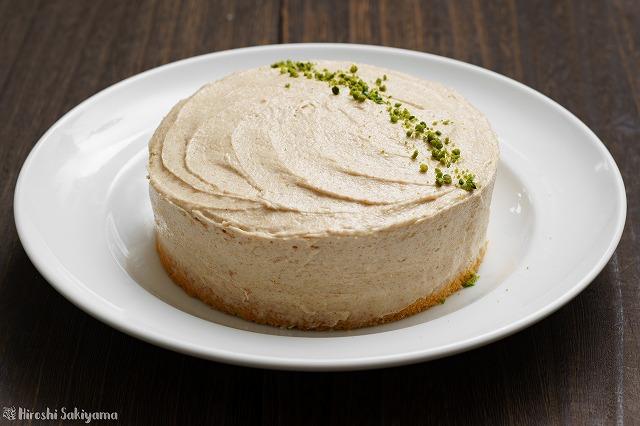 ピーナッツバターのショートケーキ
