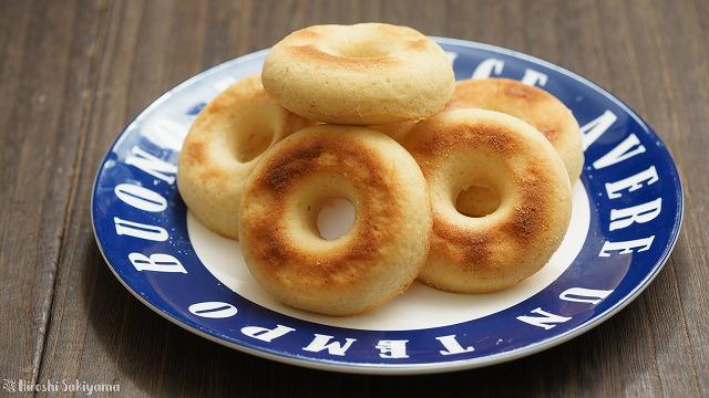 グルテンフリーの米粉焼きドーナツ