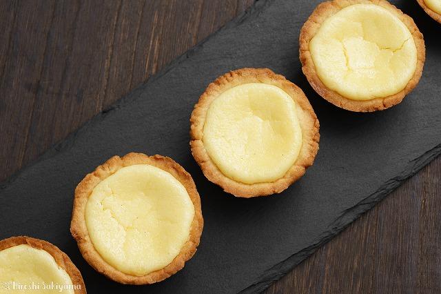 マフィン型で作るベイクドチーズタルト5