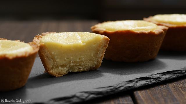 マフィン型で作るベイクドチーズタルト3