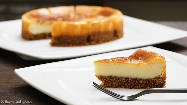 チーズが濃いベイクドチーズケーキ