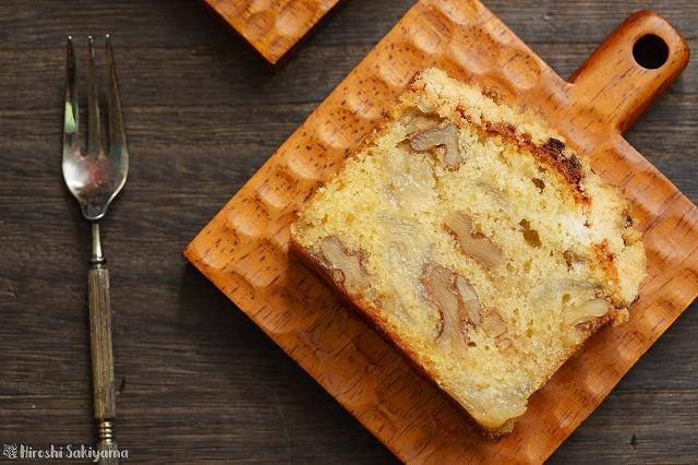 梨とクルミのクランブルケーキ5