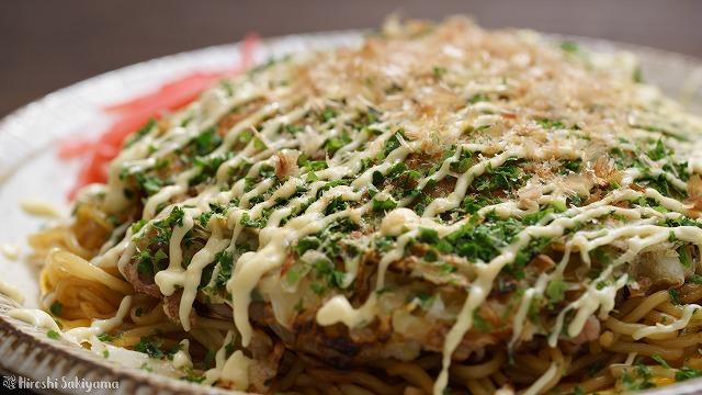 フライパンで作る広島風お好み焼き2