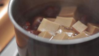 高野豆腐煮終わり