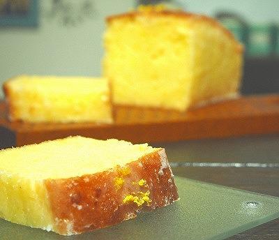 ウィークエンドシトロン(レモンパウンドケーキ)