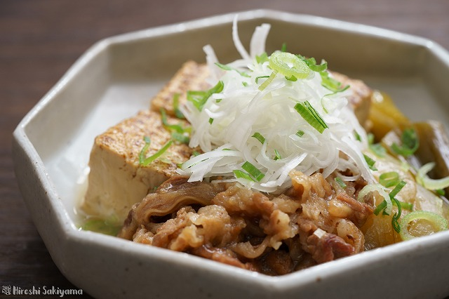 肉豆腐のアップ