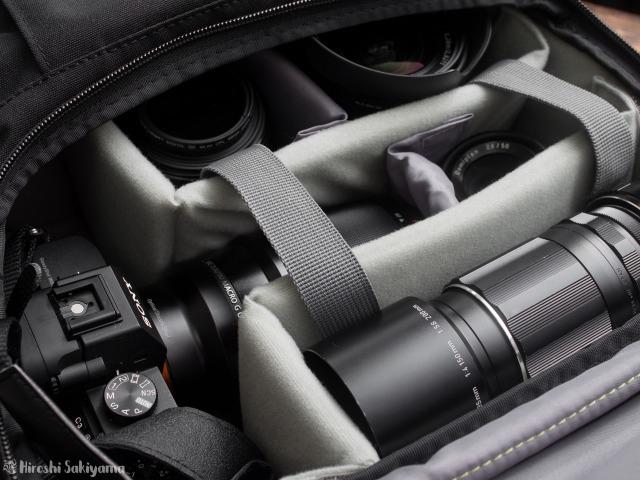 Endurance カメラバッグ Extの収納力
