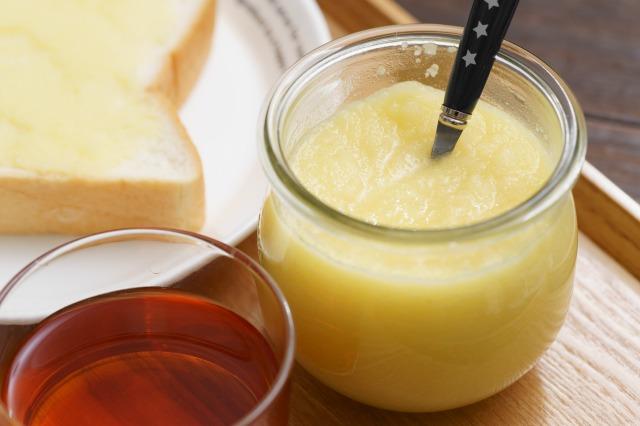レンジで簡単りんごバターのアップ