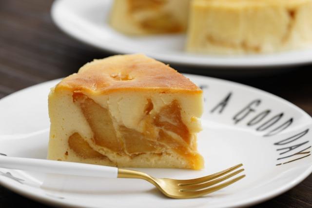 カラメルりんごベイクドチーズ