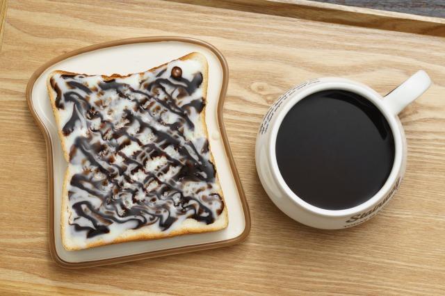 チョコ練乳食パン