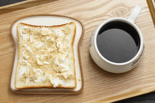 クリームチーズきなこ食パン