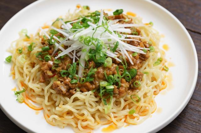 家庭で作る無印良品「麺にかける 四川風麻婆ソース」