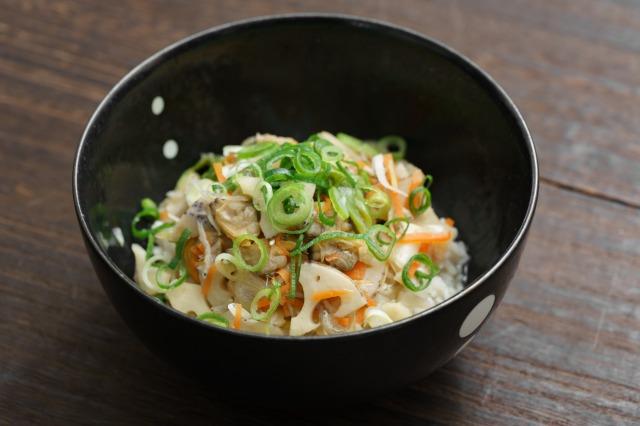 家庭で作るごはんにかける あさりと生姜の深川飯