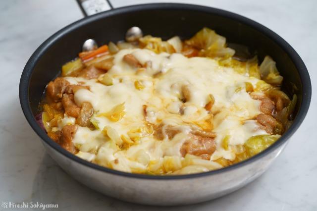 フライパンで作るチーズタッカルビ